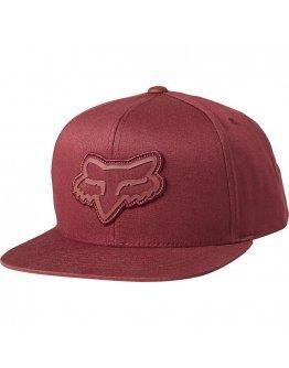 Šiltovka Fox Gasket Snapback Hat cranberry