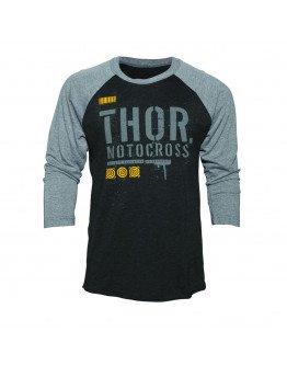Tričko Thor S7 Objectiv black/gray pánske 3/4 rukávom