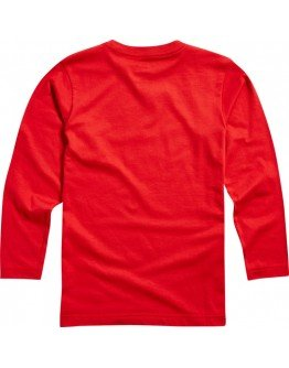 Detské tričko Fox Youth Dusty TraiLS LS Tee Dark Red 2 2018