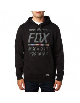 Pánska mikina Fox District 2 Pullover Fleece Heather black