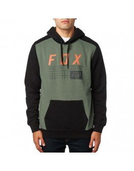 Pánska mikina Fox District 3 Pullover Fleece Dark Fatigue