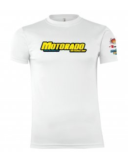 Tričko Motorado biele
