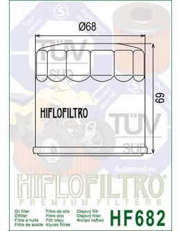 Olejový filter HF 682