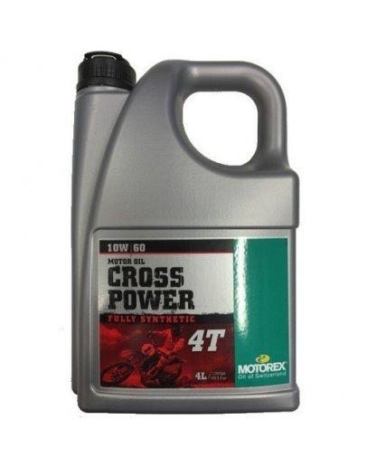 Motorex Cross power 4T 10W60 4L