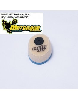 Vzduchový filter Multi AIR GAS-GAS TXT Pro Racing 125/250/280/300 TRIAL