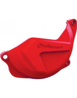 Plastový kryt krytu spojky Honda CRF 450 2009-2016 červený