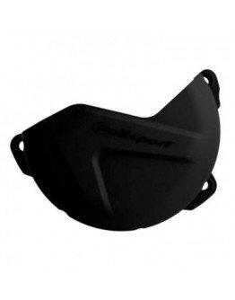 Plastový kryt krytu spojky KTM XC/SX 125/200 09-15, EXC/XCW 125/200 09-16 čierny