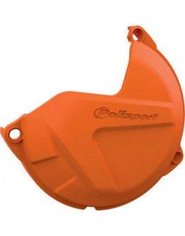 Plastový kryt krytu spojky KTM XC/SX 125/200 09-15, EXC/XCW 125/200 09-16 oranžový
