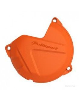 Plastový kryt krytu spojky KTM EXC/SX/XC/XCW 250/300 13-16 oranžový