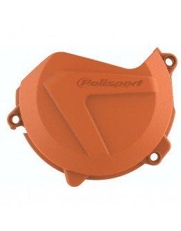 Plastový kryt krytu spojky KTM SXF/XCF 450/500 16-20, EXCF/XCFW 450-500 17-20 oranžový