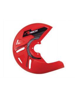Kryt predného kotúča R-tech červený