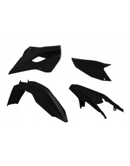 Sada plastov Husaberg TE-FE 125-501 2013-2014 čierna