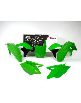 Sada plastov KXF 450 2016-2018 zelené