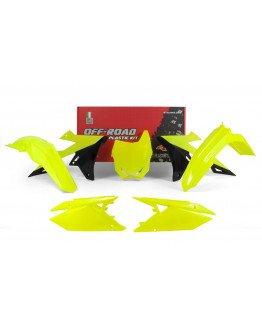 Sada plastov RMZ 450 2018-2020, RMZ 250 2019-2020 neon yellow