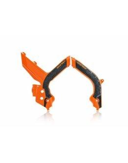Chrániče rámu Acerbis X-grip KTM EXC/EXC-F/XC-W 2020 oranžovo-čierne