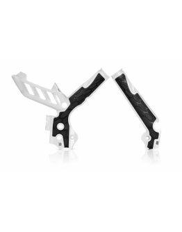Chrániče rámu Acerbis X-grip KTM SX/SXF/XCF 11-15,EXC/EXCF/XCW 12-16 bielo-čierne