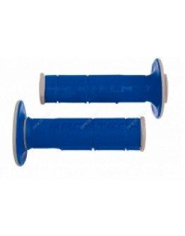 Rukoväte Racetech Dual modro-šedé