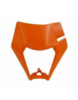 Predná maska bez svetla R-tech KTM EXC/EXC-F 150-500 2020 oranžová