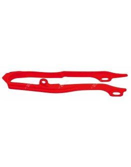 Vodítko reťaze predné CRF 450 09-12, CRF 250 10-13 červené