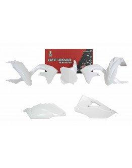 Sada plastov KXF 450 2019-2021,KXF 250 2021 biele