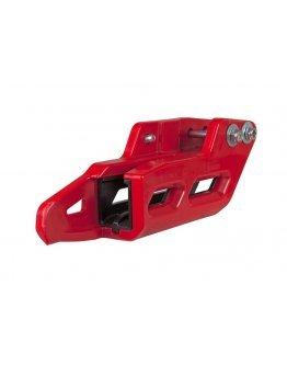 Kompletné zadné vodítko reťaze R-tech CRF 250R/450R 2007-2020 červené
