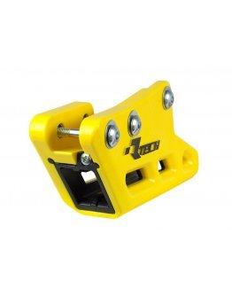 Kompletné zadné vodítko reťaze R-tech RM 125/250 1999-2008,RMZ 250 2007-2018, RMZ 450 2005-2017 žlté