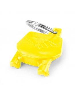 Kľúčenka Cycra Stadium number žltá