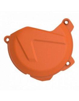 Plastový kryt krytu spojky KTM XCF/SXF 250/350 13-15, EXCF/ XCFW 250/350 12-16 oranžový