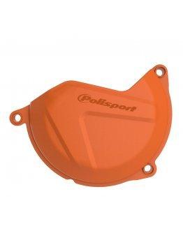 Plastový kryt krytu spojky KTM SXF/XC-F 250/350 16-21,Husqvarna FC/FX 250/350 16-21, FE 250/350 17-18 oranžový