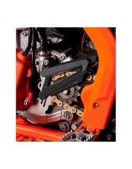 Kryt vývodového koliečka KTM  250i/300i/450F/500F 2016-2021 oranžový