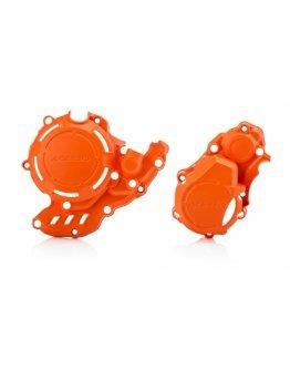 Kryt spojky a zapaľovania Acerbis X-POWER KTM EXC-F 250/350 17-21,HUSQVARNA FE 250/350 17-21,Gas-GAS EC-F 250/350 21