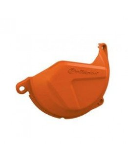 Plastový kryt krytu spojky KTM XCF/SXF 450/500 13-15, EXCF/XCFW 450/500 12-16 oranžový