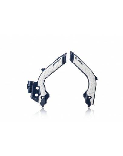 Chrániče rámu Acerbis X-grip Husqvarna FC/TC 19-21,FE/TE/TX 20-21,Gas-Gas 2021 modro-biele