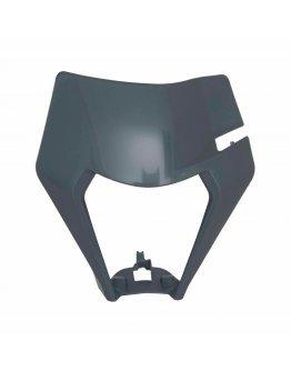 Predná maska bez svetla R-tech KTM EXC/EXC-F 150-500 2020 šedá