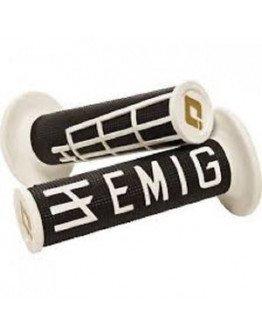 Rukoväte ODI EMIG s rýchlopalom čierno-biele