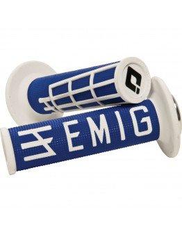 Rukoväte ODI EMIG s rýchlopalom modro-biele
