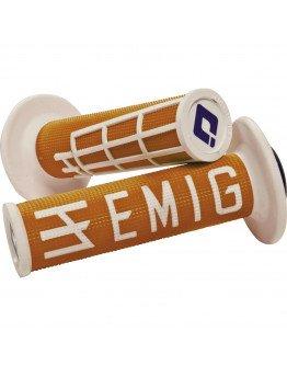 Rukoväte ODI EMIG s rýchlopalom oranžovo-biele