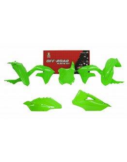 Sada plastov KXF 450 2019-2021,KXF 250 2021 neon green