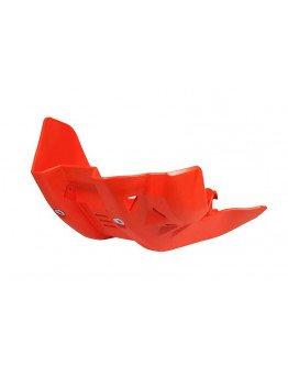 Kryt pod motor R-tech KTM SXF/XCF 450 16-18, EXCF 450/500 17-18 oranžový