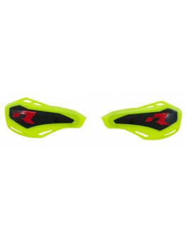 Náhradné plasty na chrániče rúk páčok HP1 neon yellow