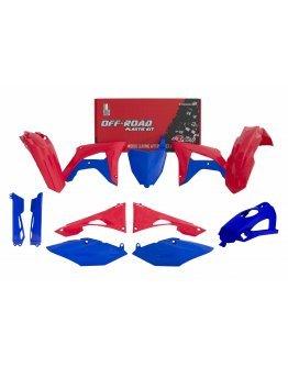 Sada plastov CRF 450 2019-2020, CRF 250 2019-2020 modro-červená