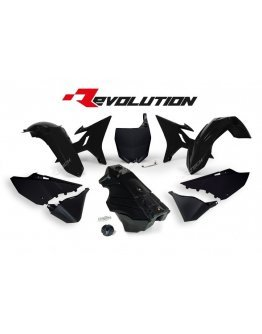 Sada plastov REVOLUTION KIT YAMAHA YZ 125-250 2002-2021 čierna