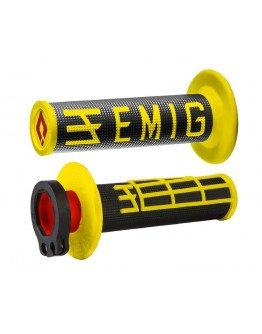 Rukoväte ODI EMIG s rýchlopalom čierno-žlté