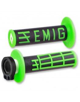 Rukoväte ODI EMIG s rýchlopalom zeleno-čierne
