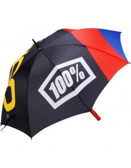 Dáždnik-slnečník 100% Geico black/multi