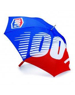 Dáždnik-slnečník 100% red/blue