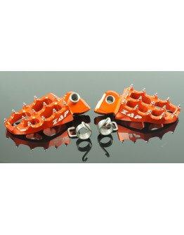ZAP stupačky Yamaha/KTM/Husaberg/GasGas oranžové