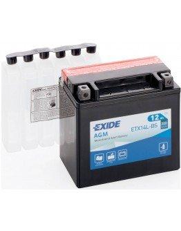 Batéria Exide ETX14L-BS (145x87x150 mm)