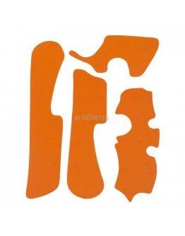 Chránič rámu Vibram KTM SX/SXF , EXC/EXCF 2011-2016 oranžový