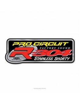 Nálepka na výfuk Pro Circuit R-304 SHORTY 2T